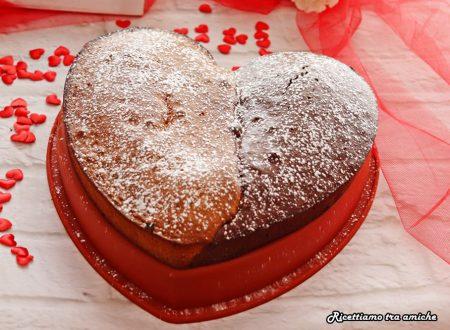 Torta cuore bicolore