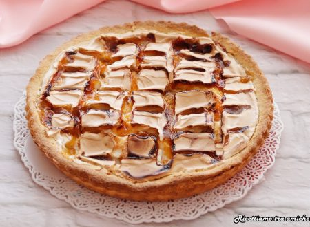 Crostata glassata con confettura di ciliegie