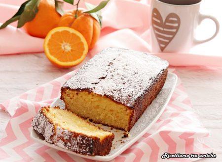 Plumcake sette vasetti all'arancia