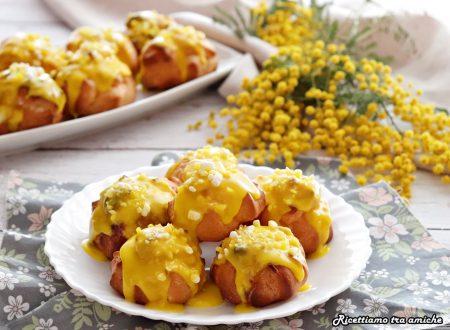 Bignè mimosa