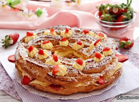 Paris brest con fragole