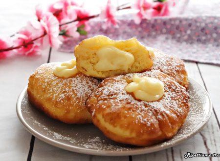 Bomboloni di patate alla crema