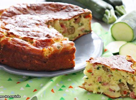 Torta 7 vasetti con zucchine