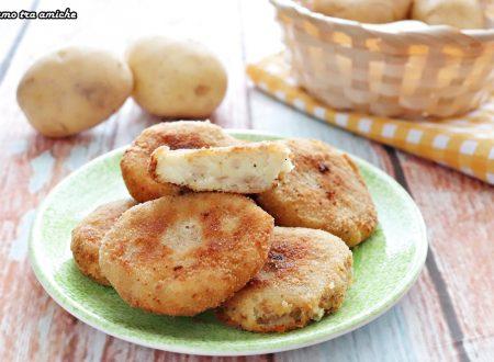 Medaglioni di patate e tonno