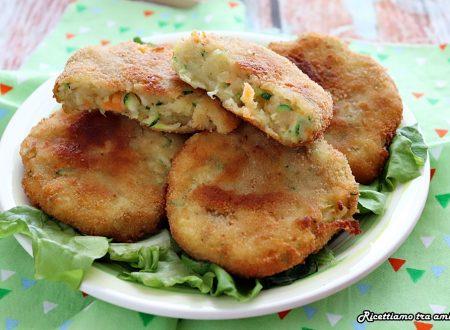 Cotolette di patate e verdure