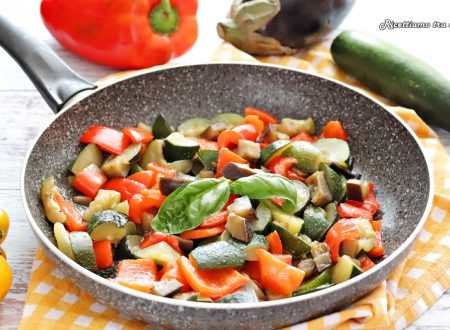 Contorno di verdure miste in padella