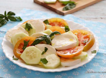 Insalata di pomodori e mozzarella