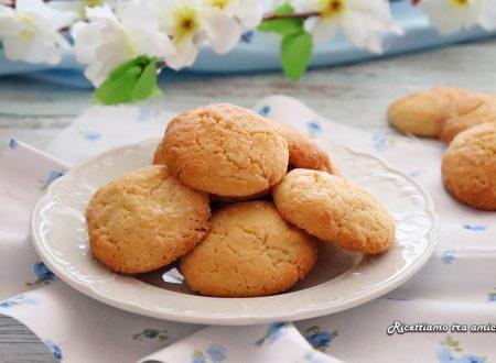 Biscotti al burro di cocco