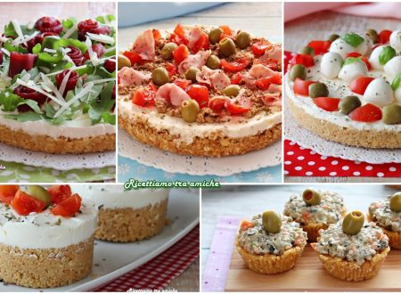 5 IDEE CHEESECAKE SALATE