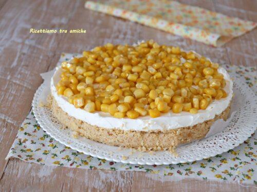 Cheesecake salata mimosa