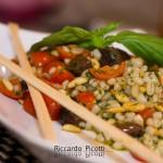 Orzo Estivo con Basilico Pomodorini Pinoli e Olive