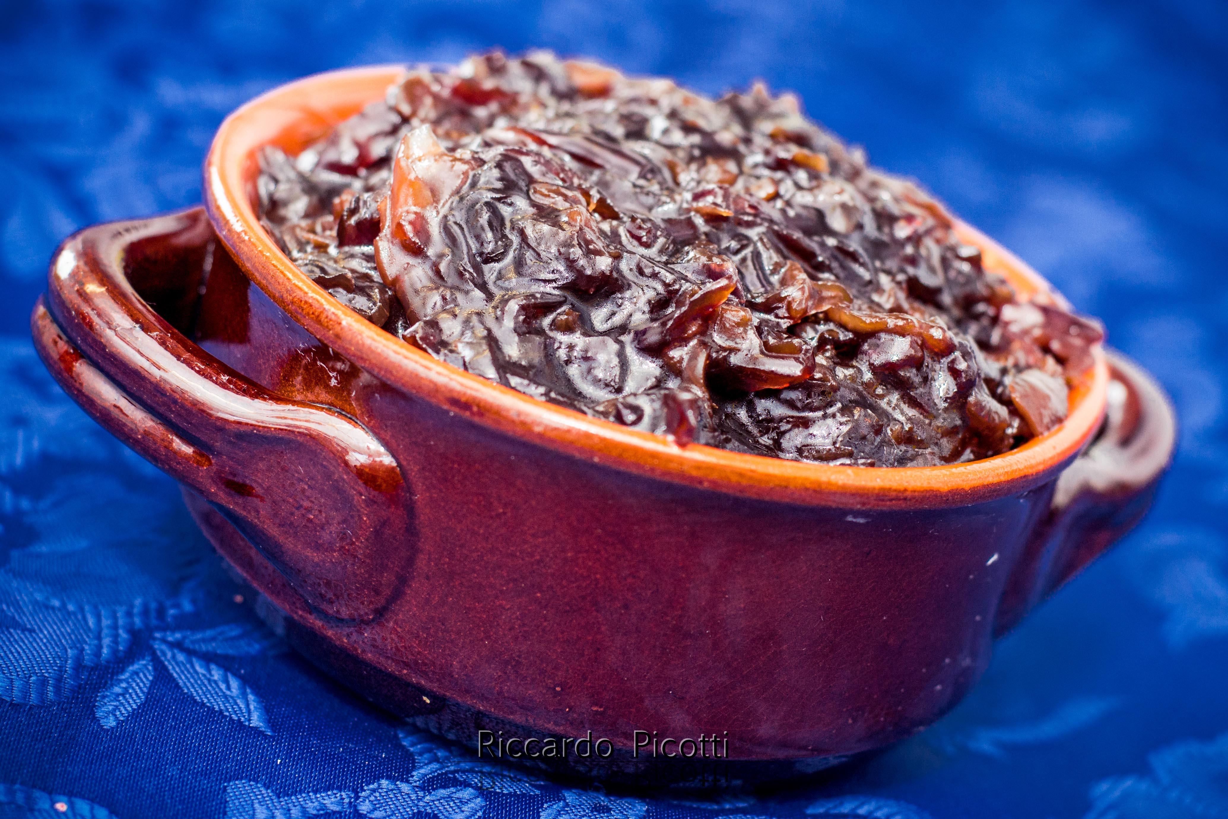 Composta Di Cipolle di Tropea Balsamico e Miele di Melata