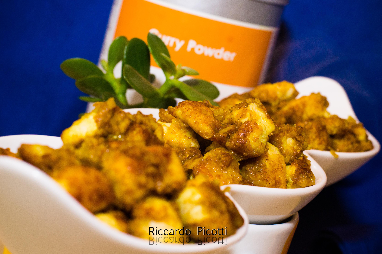 Petto di Pollo Croccante al Curry Powder