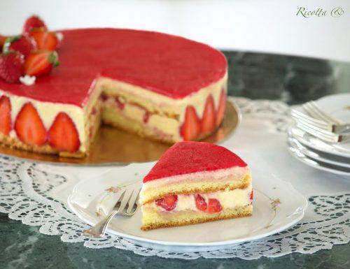 TORTA FRAISIER o Torta alle Fragole