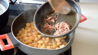 gnocchi di zucca con burro salvia e speck