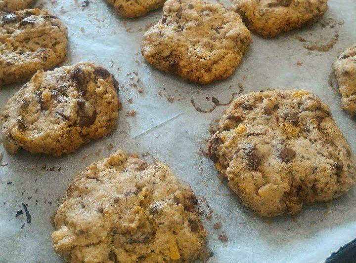 Biscotti ciocco-arancia