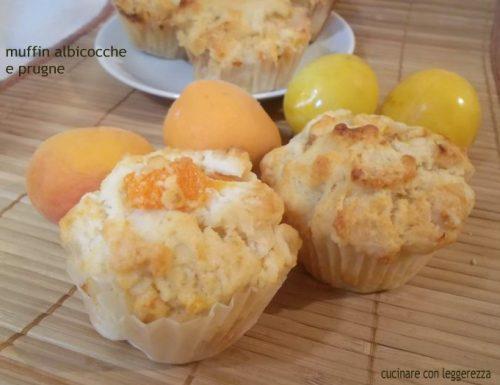 Muffin albicocche e prugne