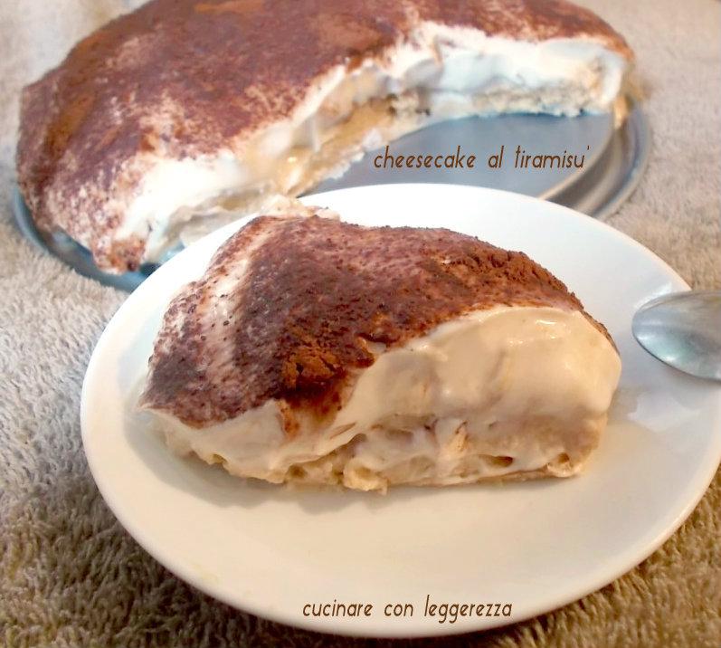 Cheesecake al tiramisu'