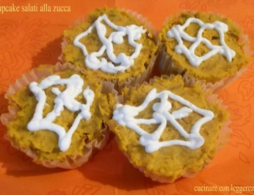 Cupcake salati alla zucca – ricetta di halloween