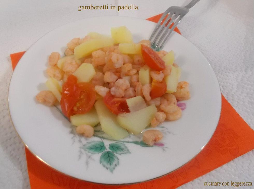 Gamberetti in padella