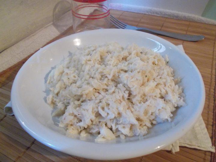 Risotto alla polpa di granchio cucinare con leggerezza for Cucinare granchio