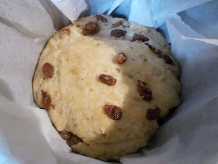 Pagnotta dolce pasquale romagnola