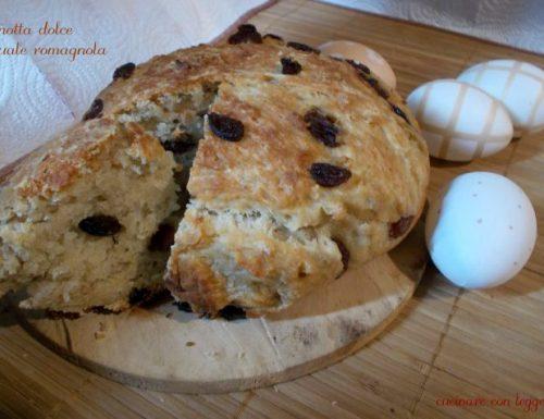 Pagnotta dolce pasquale romagnola – lievito madre