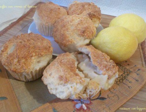 Muffin con crema al limone