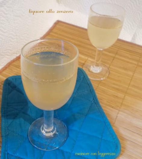 Liquore allo zenzero cucinare con leggerezza for Cucinare zenzero