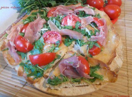 Pizza estiva – lievito madre