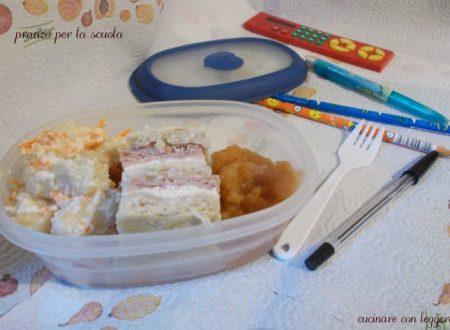 Pranzo per la scuola