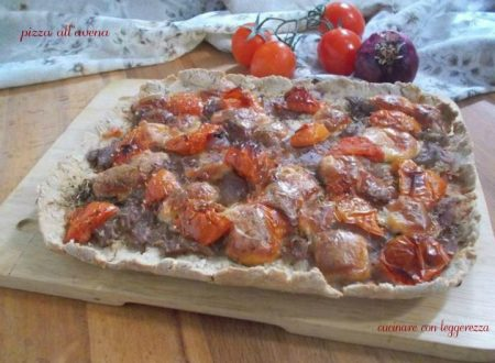 Pizza all'avena – lievito madre