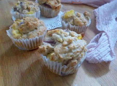 Muffin integrali alle cipolle e patate