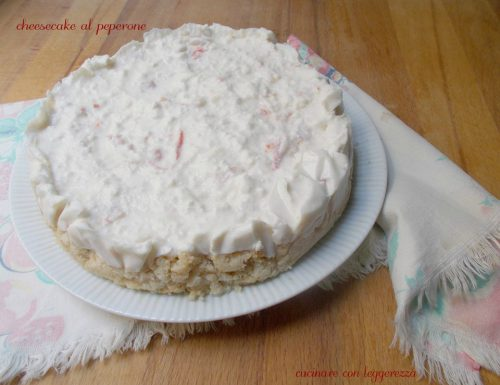 Cheesecake al peperone