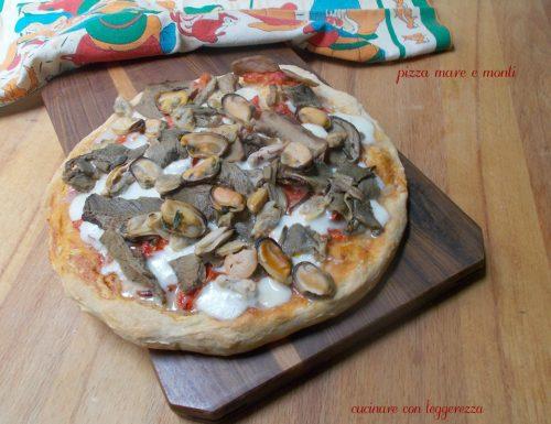 Pizza mare e monti – lievito madre