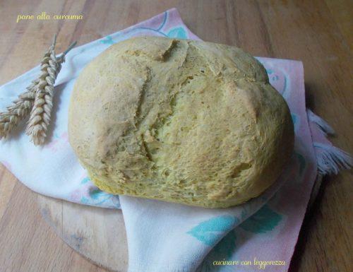 Pane alla curcuma – lievito madre