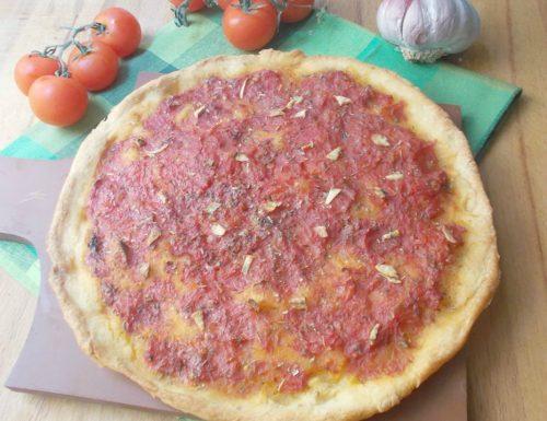 Pizza alla marinara – lievito madre