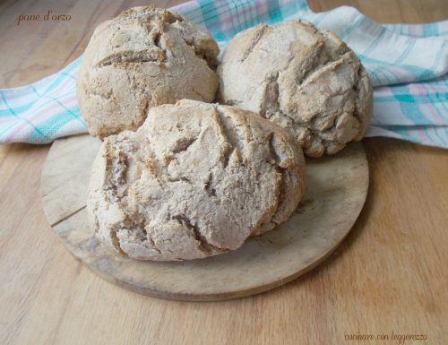 Pane d'orzo – lievito madre