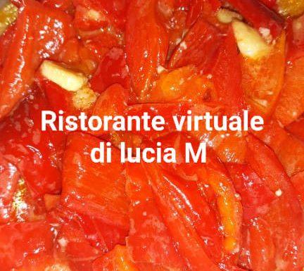 Peperoni cornetti rossi in padella