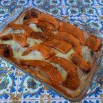 La parmigiana di zucca arancione al forno