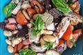 Insalata di fagioli di Spagna e tonno