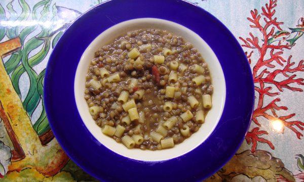 Pasta e lenticchia alla Siciliana risottata