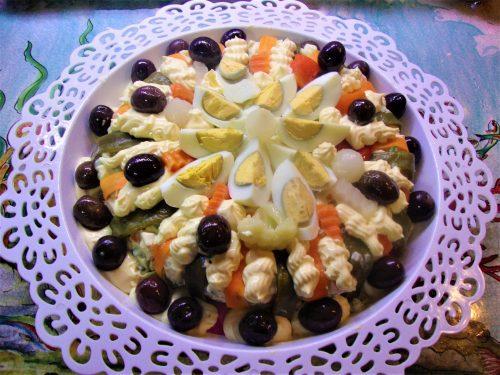 La mia insalata Russa  1 versione