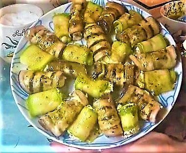 Involtini di verdure con salsa tonnata