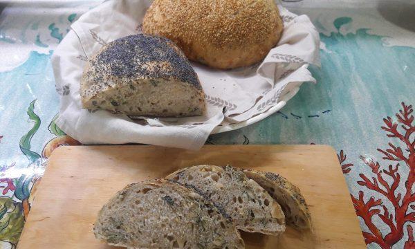 Pane ai semi con lievito madre