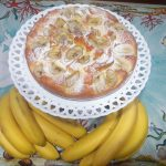 Torta di banane senza zucchero nè grassi