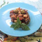 La caponata siciliana ricetta light