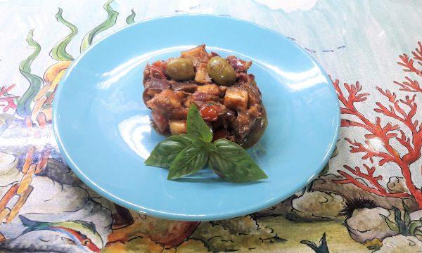 La caponata siciliana ricetta ligth