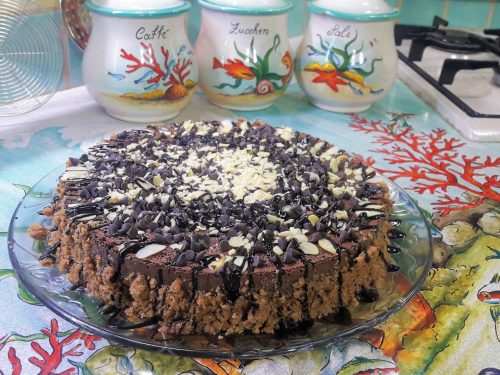Cheesecake ligth al cacao amaro