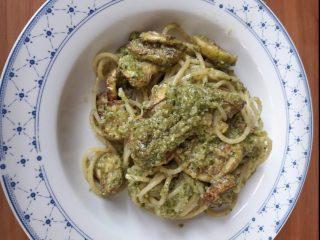 Rivisitazione degli Spaghetti alla Nerano con bottarga